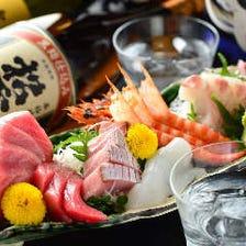 五島列島の新鮮な魚が自慢