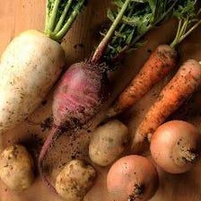 サイドメニューも充実!野菜たっぷり