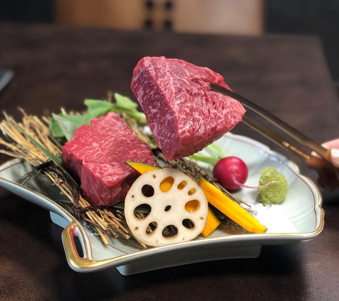 【記念日に...】厳選肉のお任せコース!スパークリングワイン付6000円