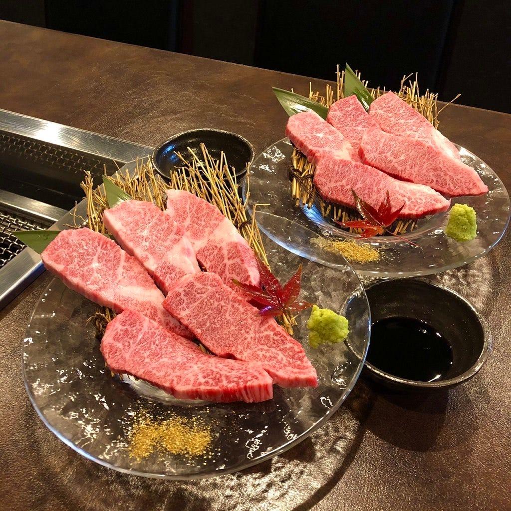 【記念日おすすめ】厳選肉のお任せコース120分飲み放題&スパークリングワイン付き8000円