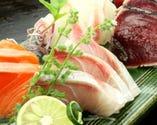 毎日函館港より仕入れております。 当日に締めた旬魚をご堪能あれ!