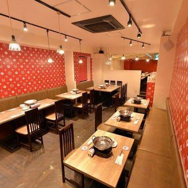 しゃぶしゃぶ 焼肉食べ放題 めり乃 新宿店 店内の画像