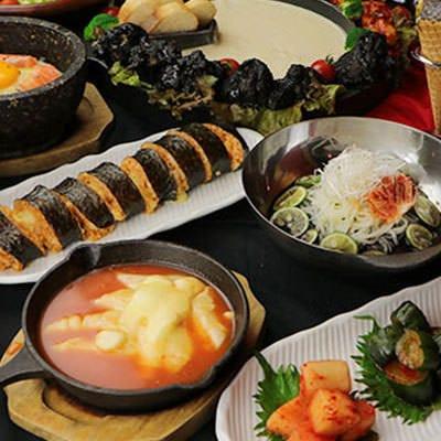 明石駅前で楽しむ韓国料理!