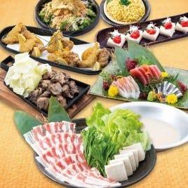 博多もつ鍋 馬肉 九州自慢 姫路店 コースの画像