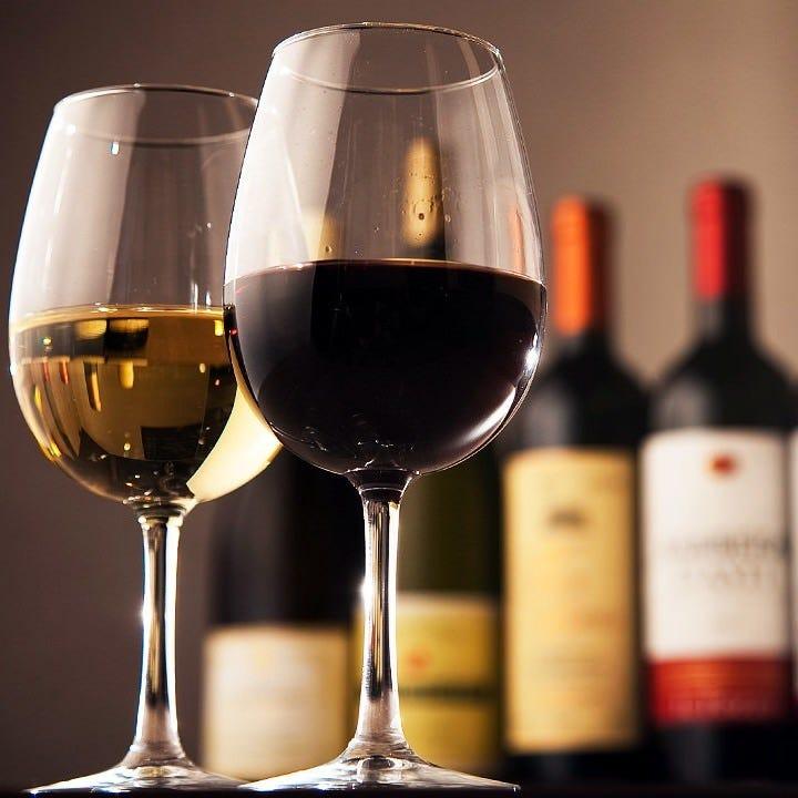 魚介に合うワインが豊富