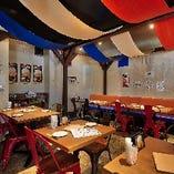 テーブル席 大小宴会に最適な空間をご用意できます!!