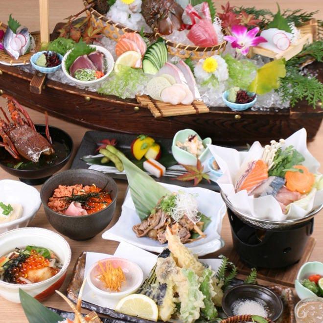 おまかせ料理宴会コース 5000円コース