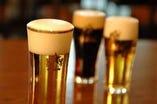 極上の生ビール 一気に注ぎ切る匠の技!