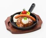 ビーフハンバーグステーキ/和風おろしソース