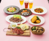 【仲間と気軽にカジュアルコース 料理7品】♪