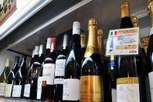 22種類から選べるワイン!