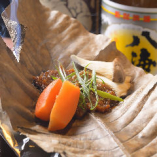 飛騨牛朴葉味噌ご飯