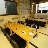 2階 最大25名まで宴会可能 座敷席