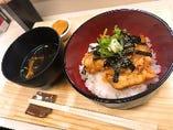 豚キムチ丼(スープ付き)