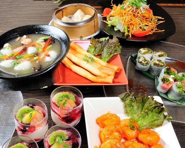 心も体も大満足!アジア料理食尽くし