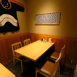 普段のお食事から少人数宴会まで幅広くご利用いただけるテーブル席