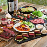 馬肉をつかった様々なお料理をいっぱい食べられるコース料理!