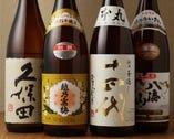 日本酒のラインナップも豊富ですよ!