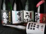 地酒屋さんがオススメする約20種類の日本酒