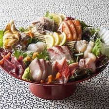 豪華大漁盛り~その日一番旬な鮮魚を盛り合わせ~