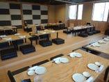着席80名以上対応可能なお座敷席!15cmのクッションで楽々宴会!