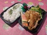 NEW三元豚生姜焼き弁当