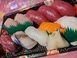 本気の握り寿司(10個)