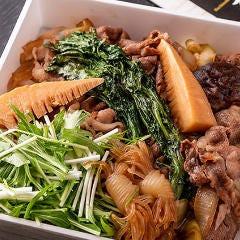 【要予約】お家で牛すき鍋弁当