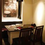 記念日にもおすすめ!テーブル個室(3~5名様の半個室×3/~15名様の完全個室)