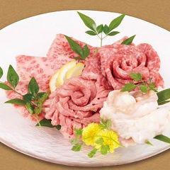 【牛タン、カルビ、ロース、ホルモン(各120g)】5,000円セット