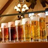 """工場直送""""サッポロ黒ラベル""""他生ビールは全6種類!"""