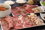 【一頭喰いコース】 14部位のお肉300g