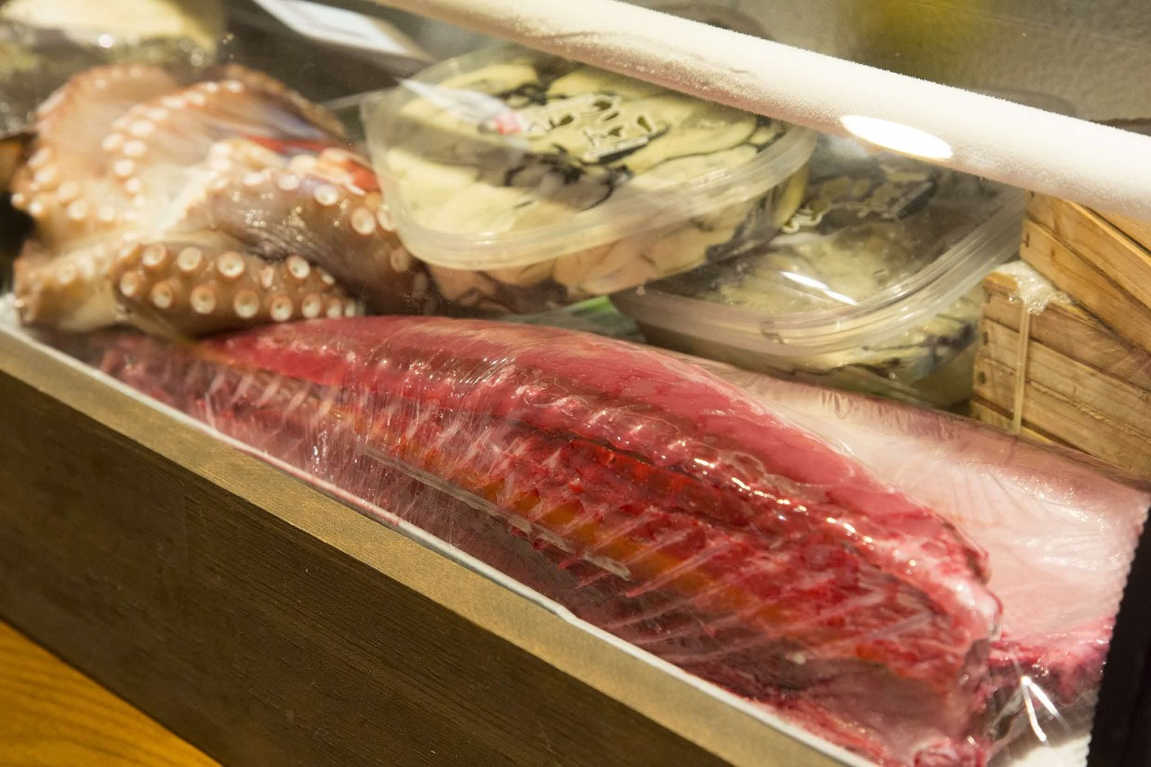 愛媛県産の地元魚介