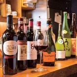 【ドリンク】赤・白ワインをはじめ、幅広く取り揃えています。