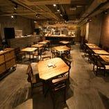 テーブル席(~4名様×3、~2名様×9)