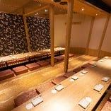 浜松町の個室居酒屋なら当店へ!最大60名様までご利用可能です◎