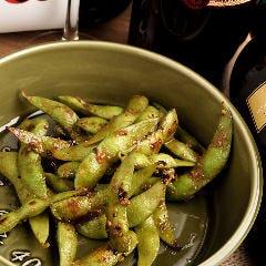 焼き枝豆のアンチョビソテー