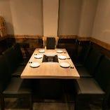 6名様用:テーブル席(4名様~6名様迄)接待・少人数様のご宴会にもおすすめ