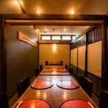 【1階】テーブル席完全個室(~20名様)
