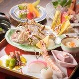 【会 席】 和食の匠が手掛ける本格会席を気軽に楽しめます