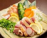 国産鶏タタキ2種
