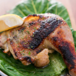 鶏オリーブ焼き