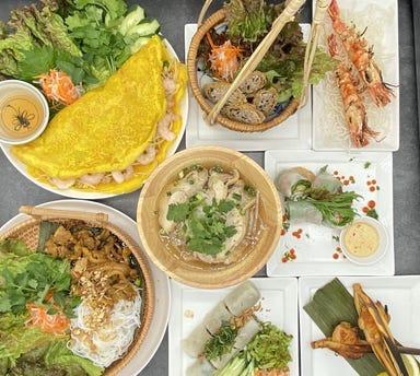Faifo Vietnam Cuisine コースの画像