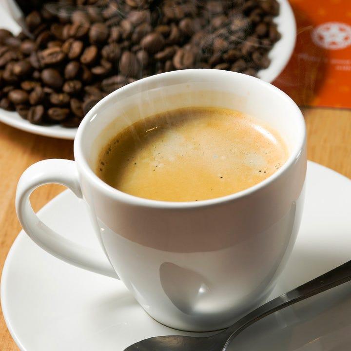 葉山のTHE FIVE BEANSさんの豆で淹れたコーヒーでほっと一息♪