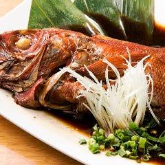 鮮度抜群♪脂ののった『地魚1本煮』