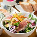 女性に嬉しい!三崎半島の美味しい地野菜がたっぷりの『太陽のNewベジランチ』