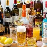 飲み放題メニューも充実!各種ご宴会や飲み会にどうぞ!