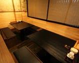 2階は全室個室 4名から8名様に最適。