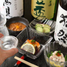 人気・希少な日本酒をご用意。