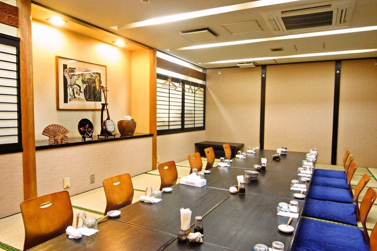 最大40名様まで対応可能な完全個室席!人気のお席のため要予約